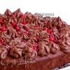 «Бархатный» шоколадный торт с черносливом (без масла!)