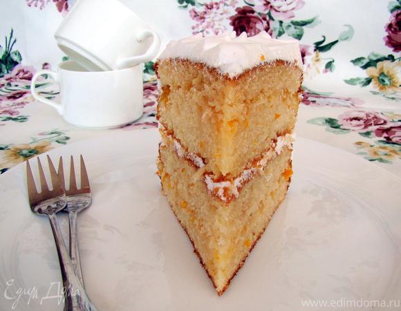 """Торт """"Белый Бархат"""""""