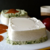 Баваруа с йогуртом и базиликом