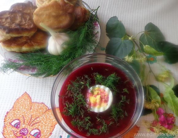 """СВЕКОЛЬНИК С СЕКРЕТОМ (""""Холодные супы"""")"""