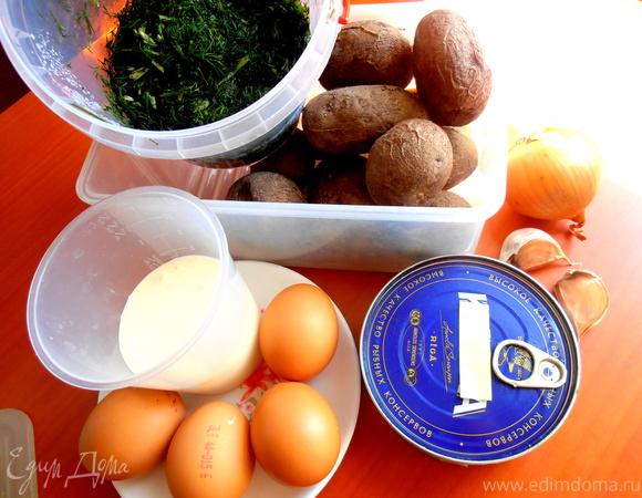 Картофельный гарнир на новый лад