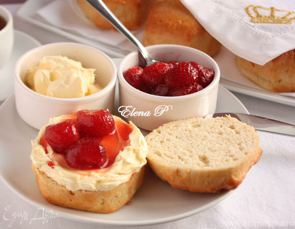 Топленые сливки по-английски (Clotted Cream)