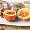Пончики с абрикосами и миндальной начинкой