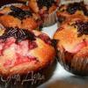 Маффины с ягодами и орехами
