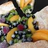 Открытая Ягодно-фруктовая слойка с маскарпоне