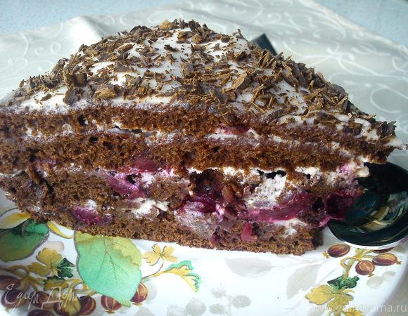 Тортик с вишней