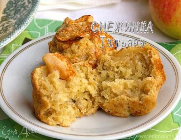 Английские яблочные мини-пироги с корицей («Школьная ссобойка»)