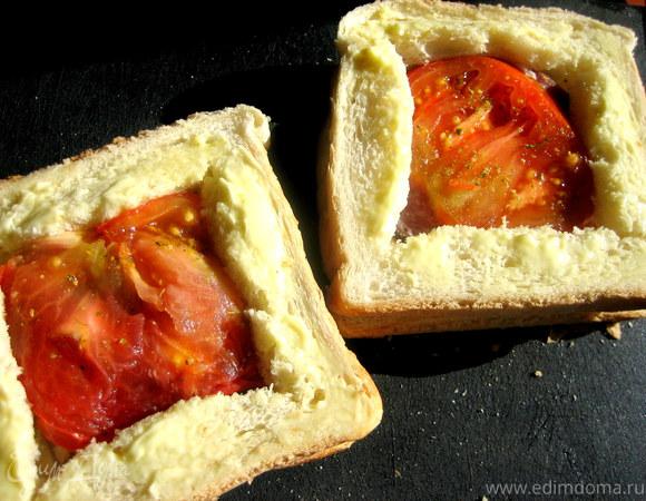 Сэндвичи с окошком