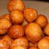Творожные шарики в кленовом сиропе