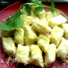 Борщ с картофельными ньокками