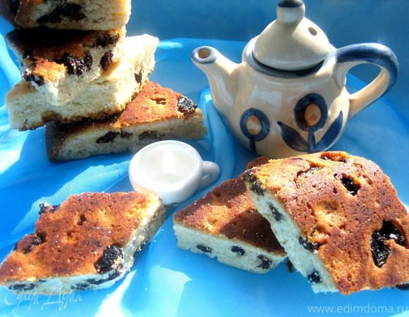 Печенье на майонезе с изюмом
