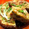 Лазанья с курицей и печенкой