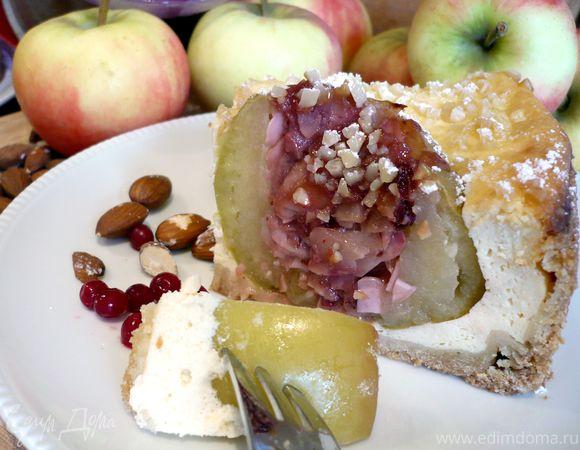 Чизкейк с печеными яблоками «Утомленные солнцем»