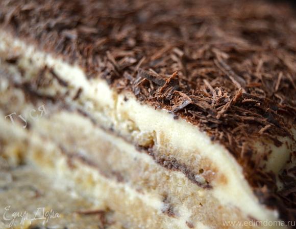 Ледяной миндальный торт-семифреддо (Semifreddo)
