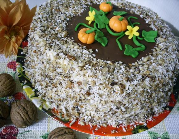 """Торт """"Озорная тыковка"""""""