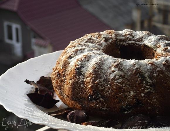 Кекс с вишней и орехами – простой рецепт на каждый день