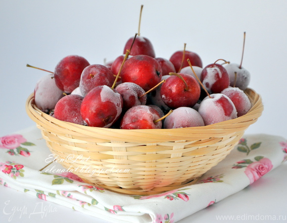 Компот из райских яблок с мятой