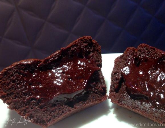 Тортино с жидким шоколадом внутри (Tortino)