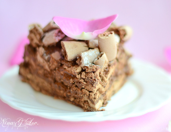 "Торт ""Конкорд"" (Concorde Cake). Миниатюрная версия"