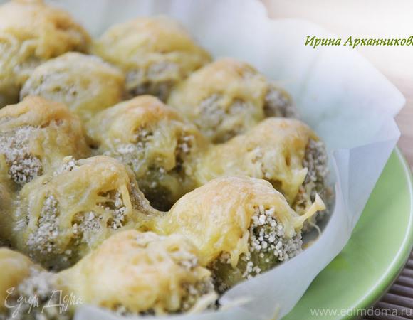 Шарики из картофеля и брокколи