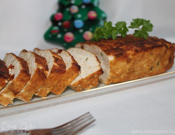 Мясной хлеб с вялеными помидорами
