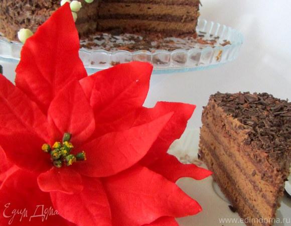 """Торт """"Черный, или очень шоколадный"""""""