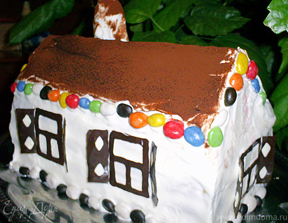 """Торт """"Нарядная избушка"""""""