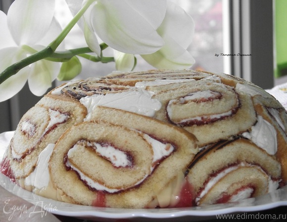 Торт-суфле без выпечки