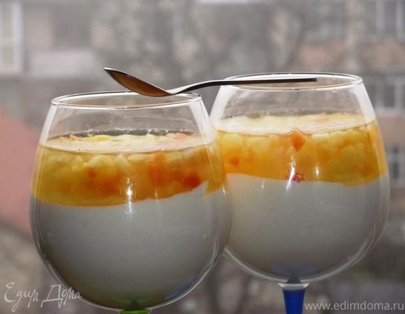 Сливочный мусс - итальянский десерт («Mousse cremoso»)