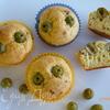 Сырные маффины с паприкой и оливками