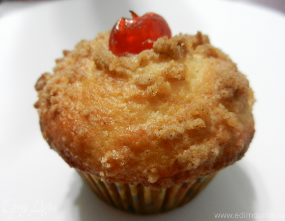 "Яблочные кексы ""Чудо"" (Apple Streusel Muffins)"
