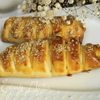 Сдобные булочки с грецкими орешками