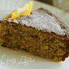 Апельсиново-миндальный пирог без муки