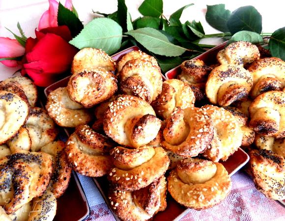 """Печенье """"Творожные розы"""""""