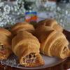Воздушные рогалики с хрустящей ореховой начинкой (Українськи страви)