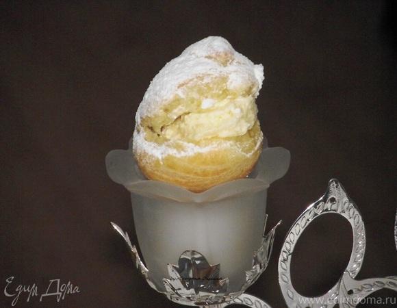 Эклеры с масляно-заварным кремом