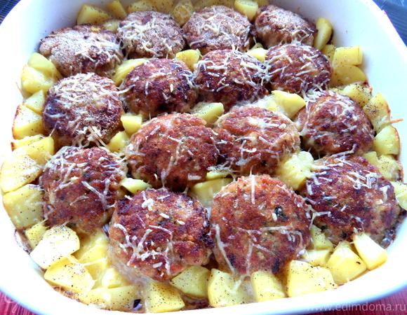 Непростые котлетки с картошкой