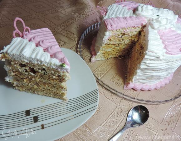 """Торт """"Вафельная безуминка"""""""