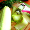 Маринованные роллы из молодых кабачков