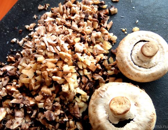 Сливочный жульен с ветчиной и грибами