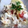 Салат с цветной капустой, грейпфрутом и фундуком
