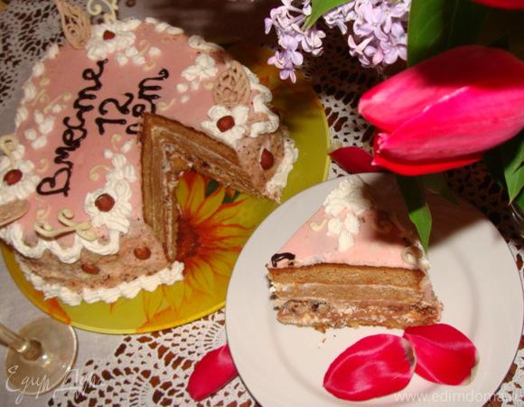 "Торт ""Медовое сердце"""
