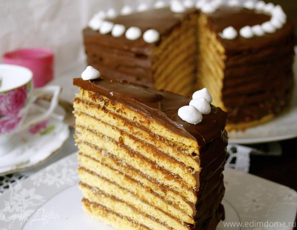 """Торт """"Принца-регента"""" (""""Prinzregententorte"""")"""