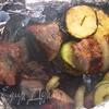 Шашлык из свинины с водкой