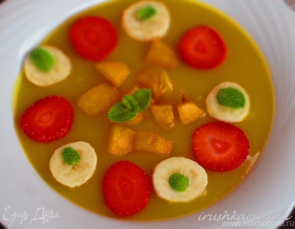 Фруктово-ягодный холодный суп