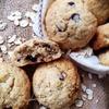 Овсяное печенье с шоколадными каплями и орехами