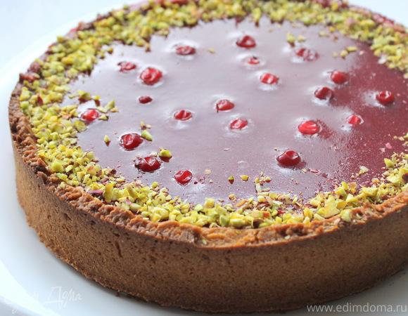 Клюквенный тарт