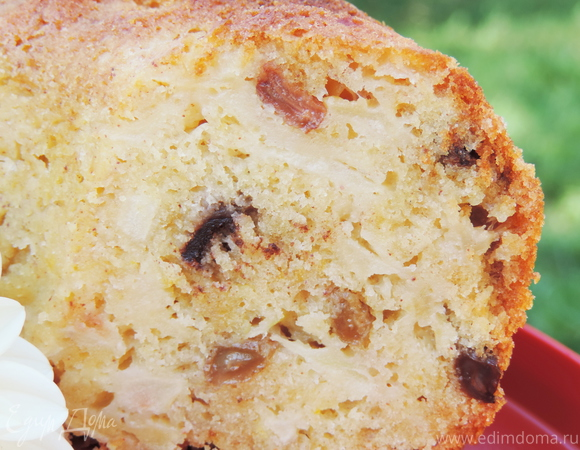 """Яблочный кекс с шоколадом и изюмом """"Восхитительный"""""""