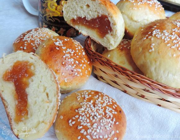 рецепт булочек в духовке из творожной массы без яиц