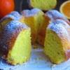 Творожный кекс с апельсиновым соком
